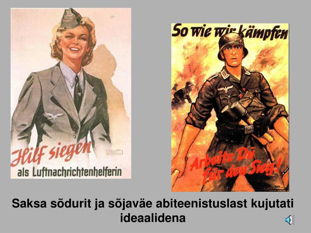 Saksa sõdurit