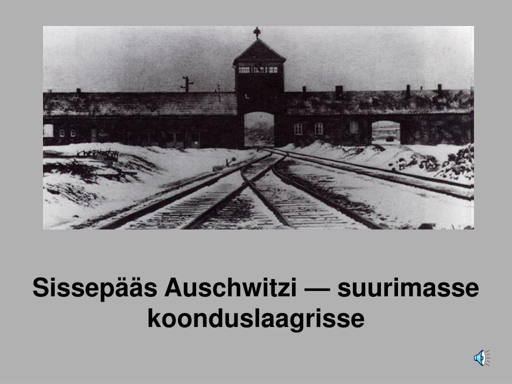 Sissepääs Auschwitz