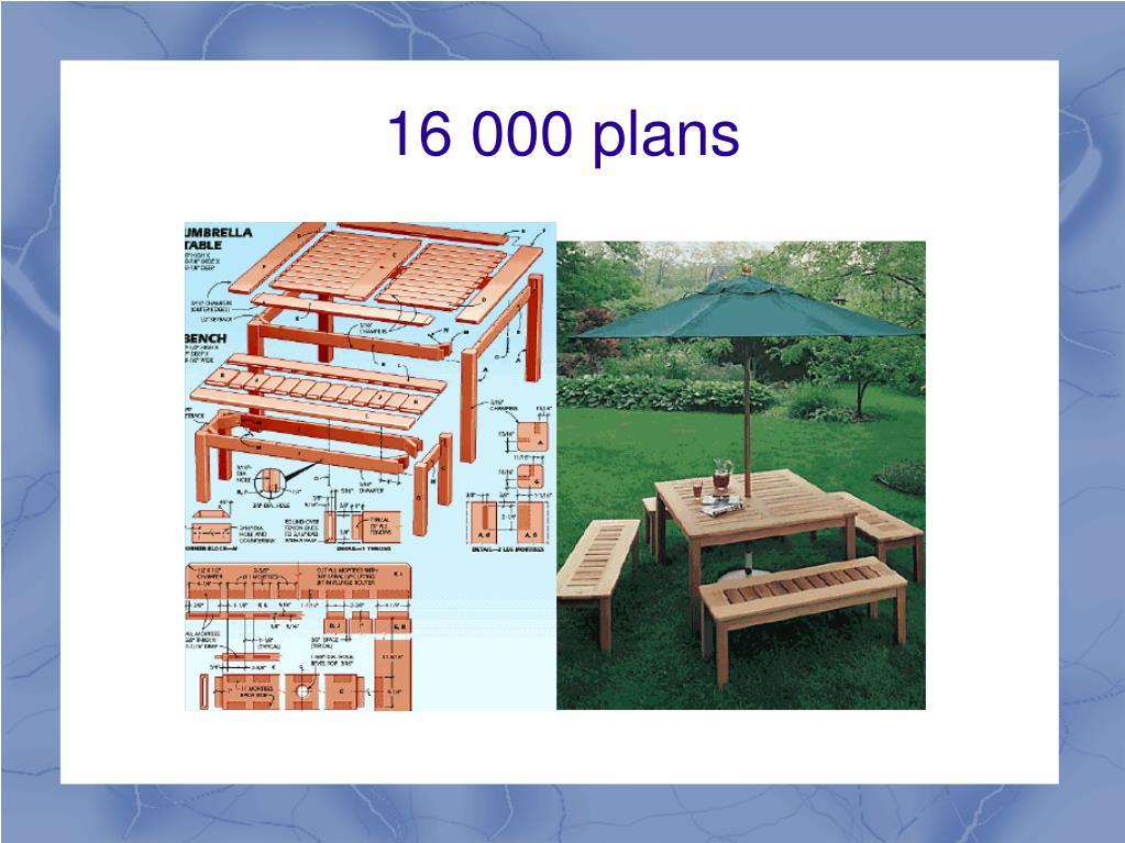 16 000 plans