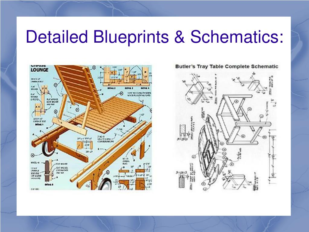 Detailed Blueprints & Schematics: