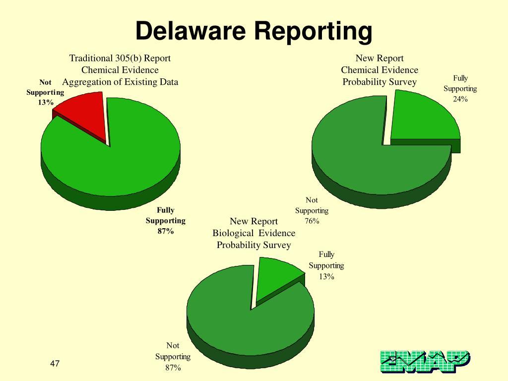 Delaware Reporting