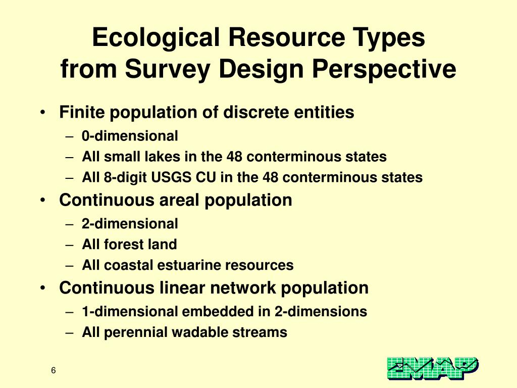 Ecological Resource Types
