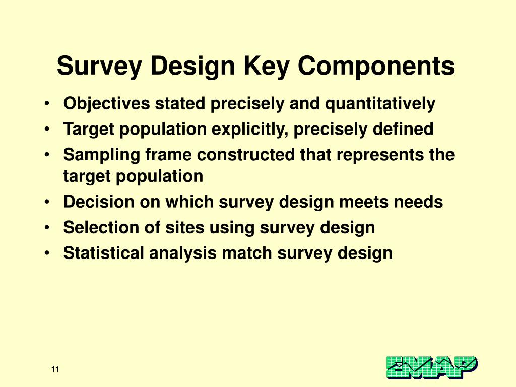 Survey Design Key Components