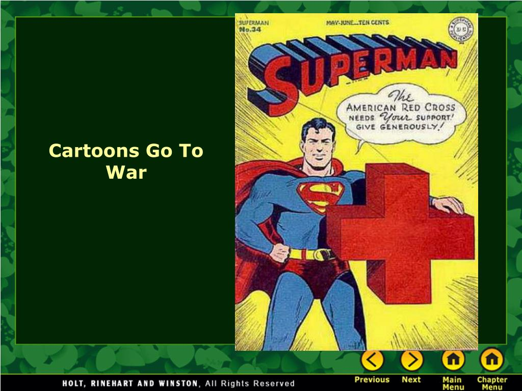 Cartoons Go To War