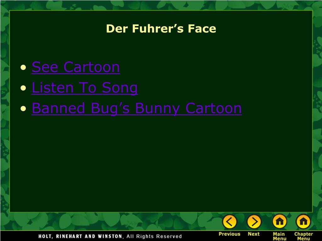 Der Fuhrer's Face