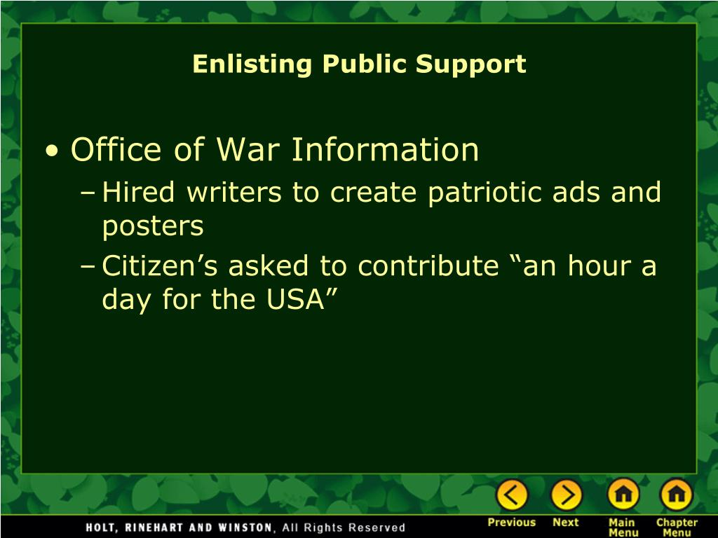 Office of War Information