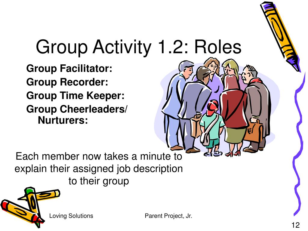 Group Activity 1.2: Roles