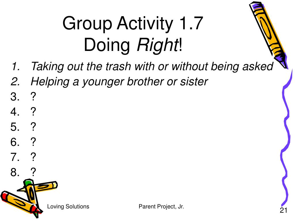 Group Activity 1.7