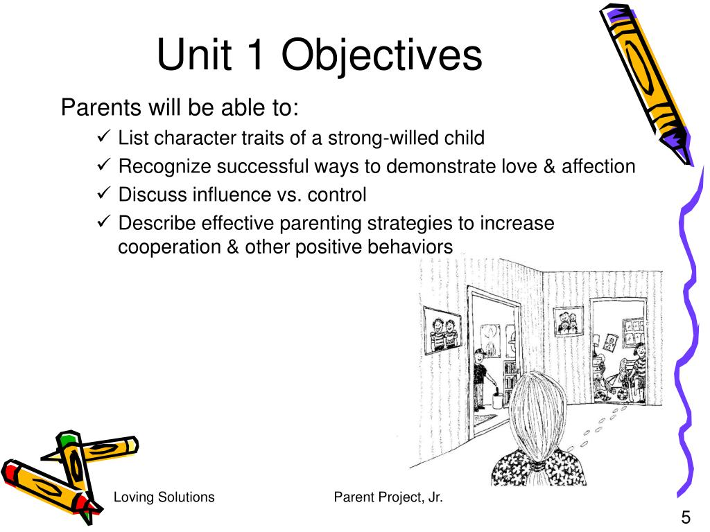 Unit 1 Objectives