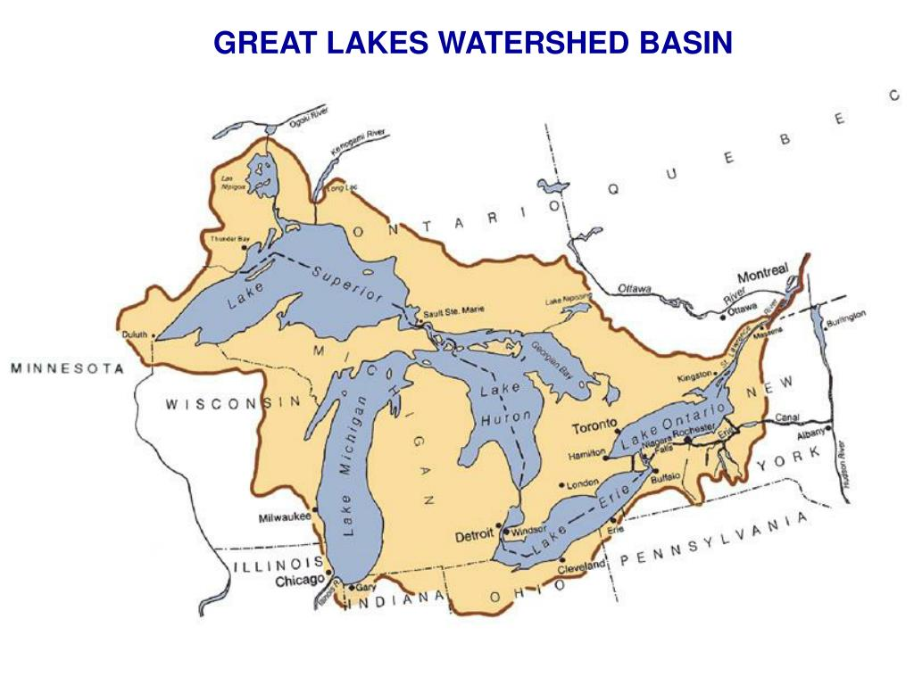 GREAT LAKES WATERSHED BASIN
