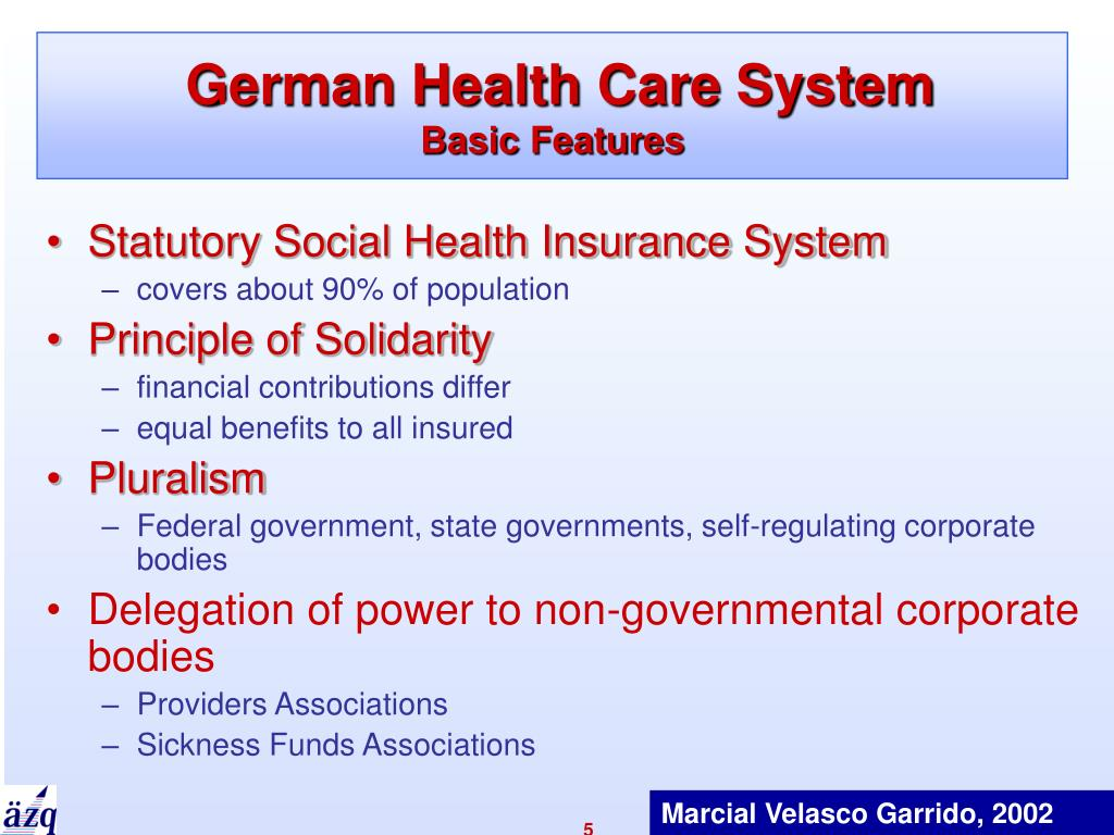German Health Care System