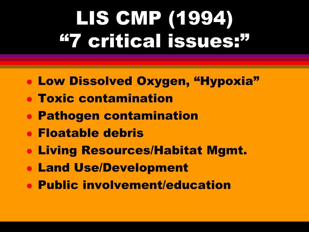 LIS CMP (1994)