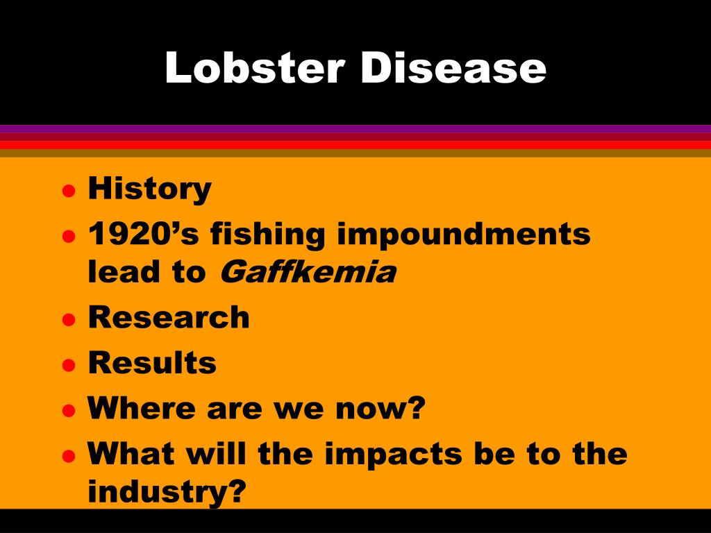 Lobster Disease