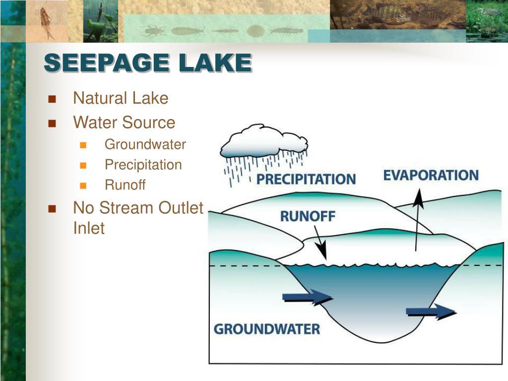 SEEPAGE LAKE