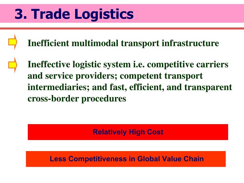 3. Trade Logistics