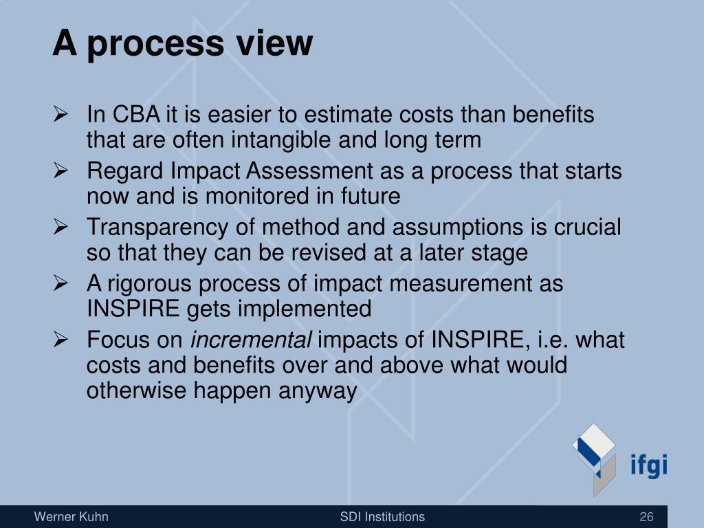 A process view