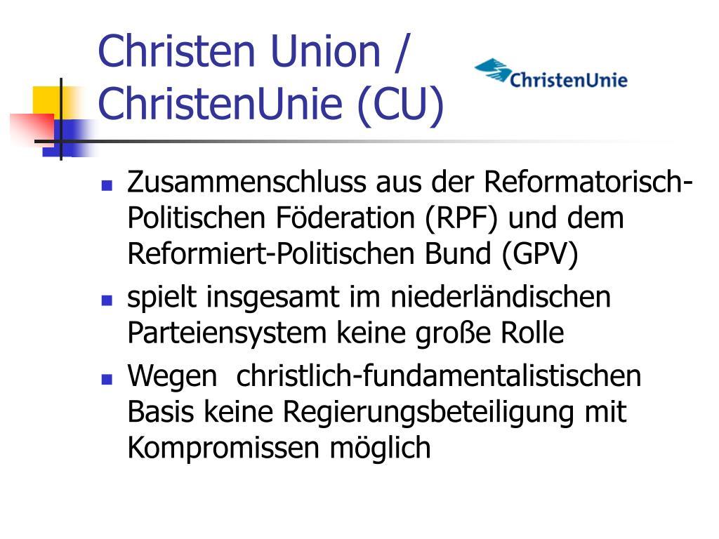 Christen Union /