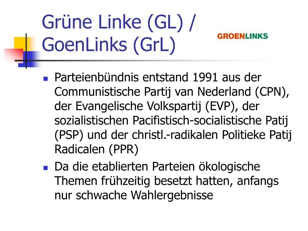 Grüne Linke (GL) /