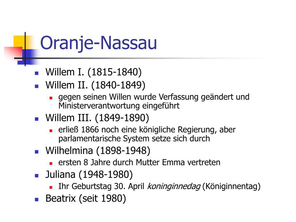Oranje-Nassau
