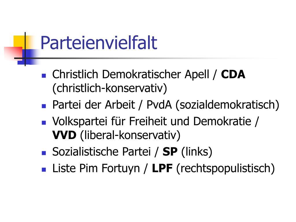 Parteienvielfalt