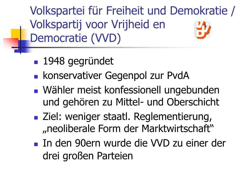 Volkspartei für Freiheit und Demokratie /