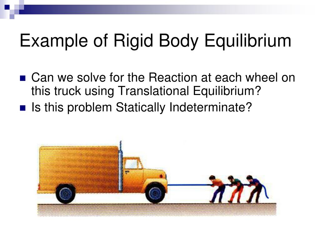 Example of Rigid Body Equilibrium