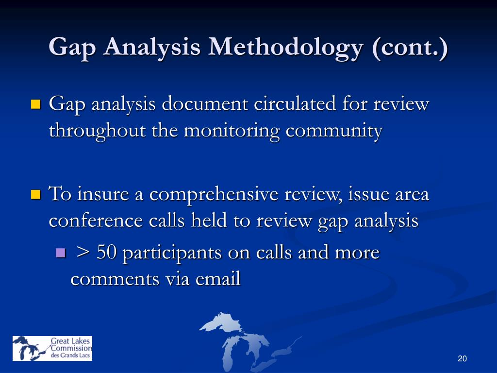 Gap Analysis Methodology (cont.)