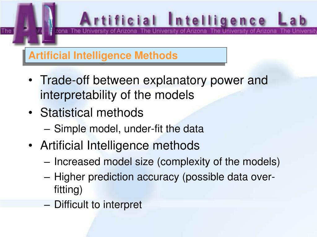 Artificial Intelligence Methods