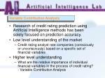 variable contribution analysis