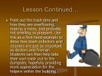 lesson continued18