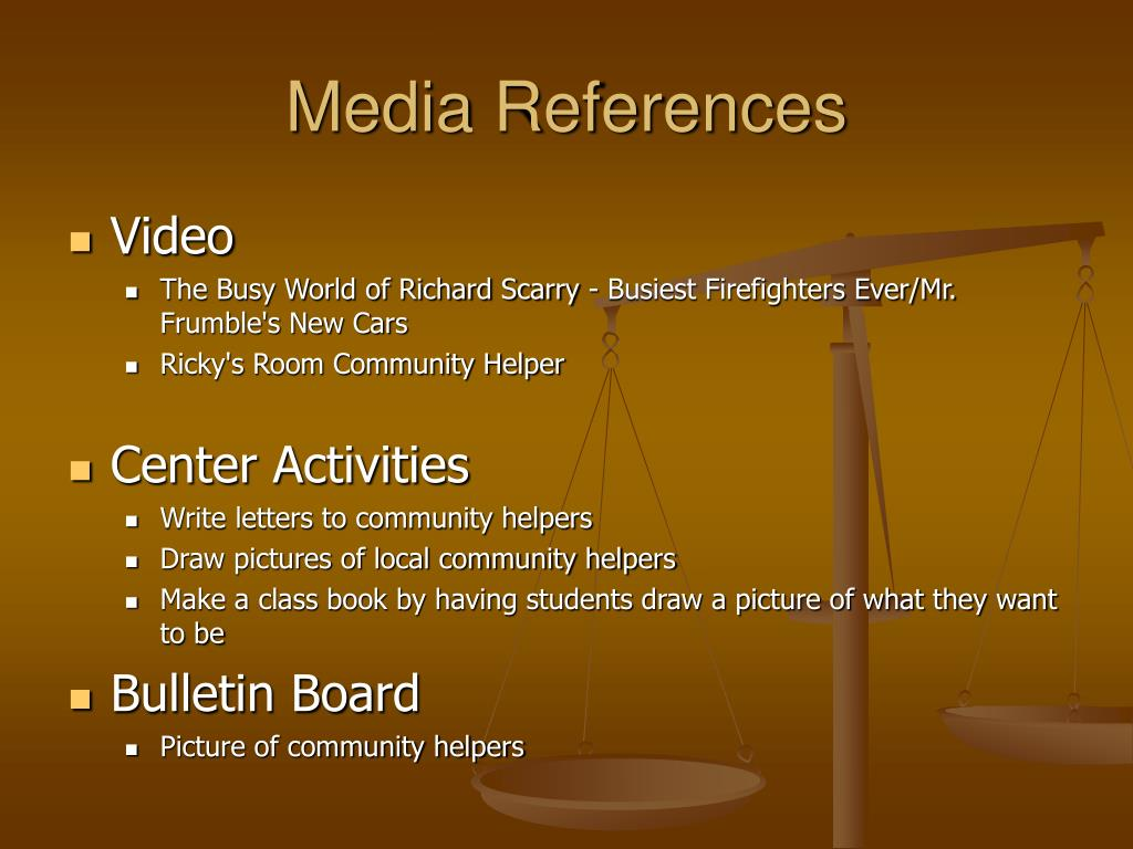 Media References