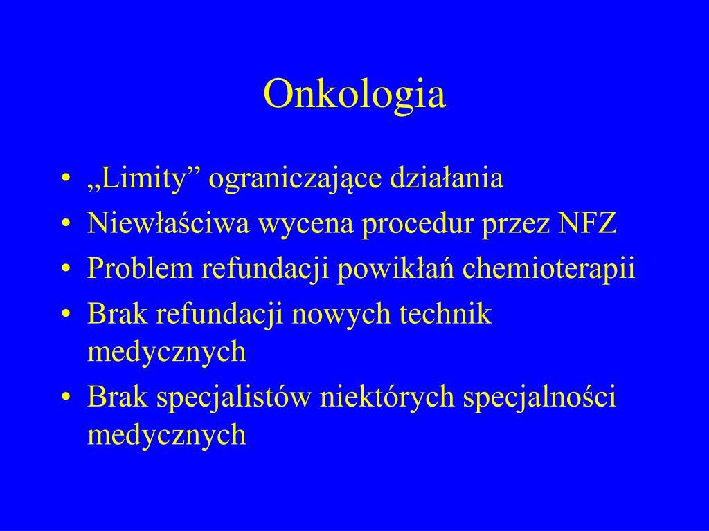 Onkologia