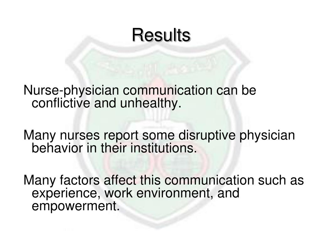 Doctor patient communication literature review