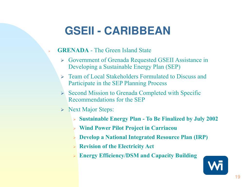 GSEII - CARIBBEAN