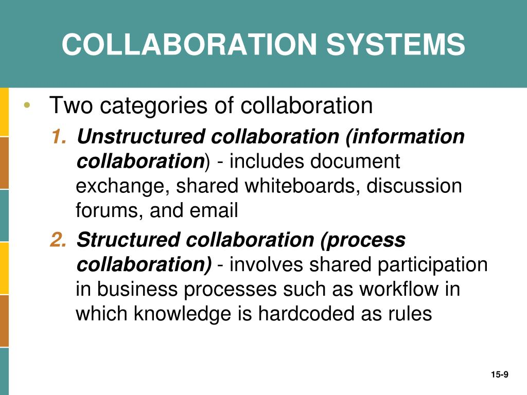 COLLABORATION SYSTEMS