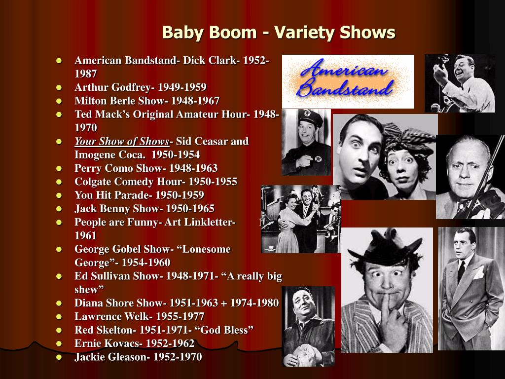 Baby Boom - Variety Shows