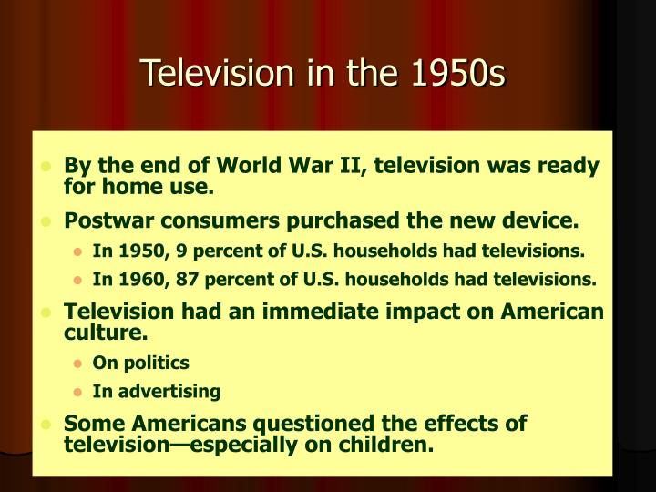Television in the 1950s l.jpg