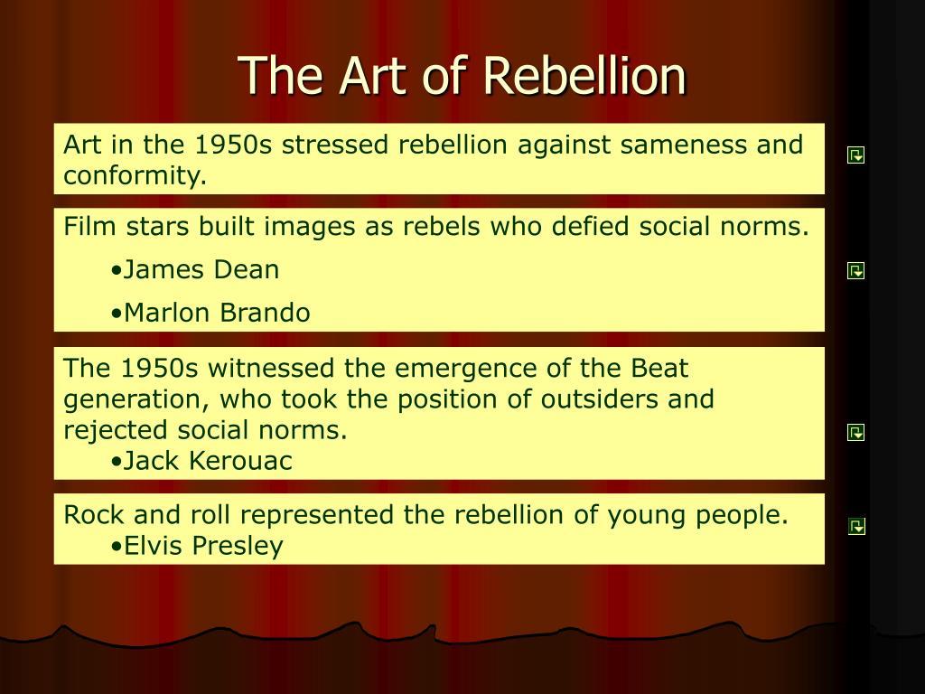 The Art of Rebellion