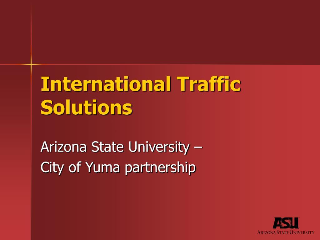 International Traffic Solutions
