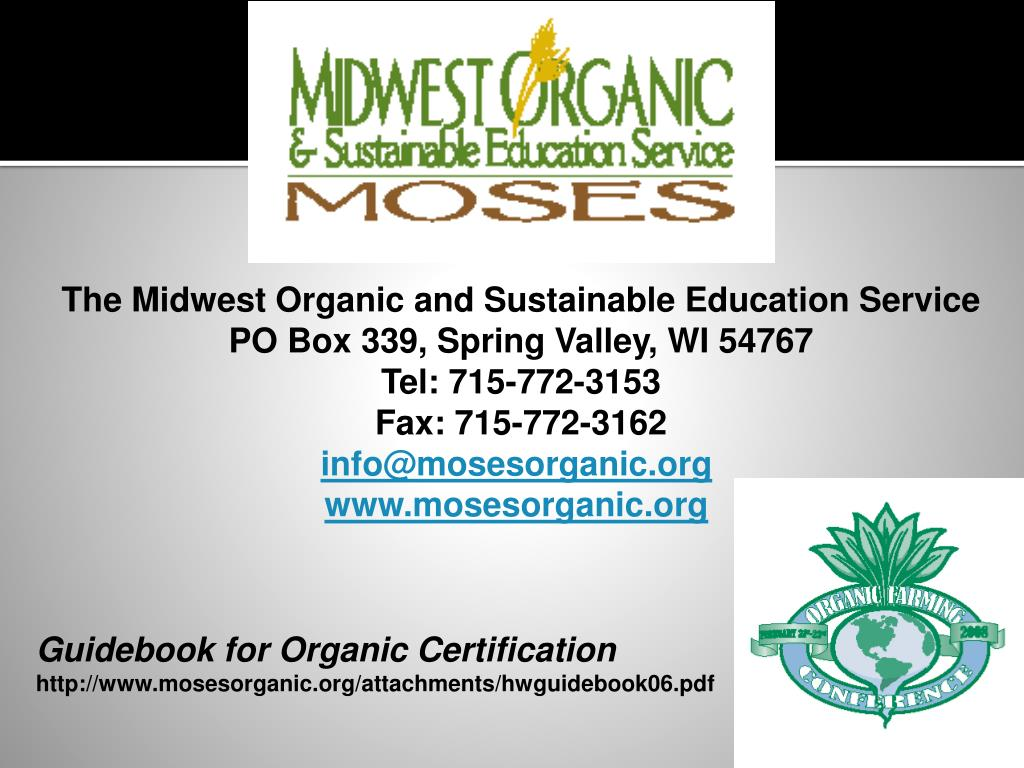 The Midwest Organic and Sustainable Education Service