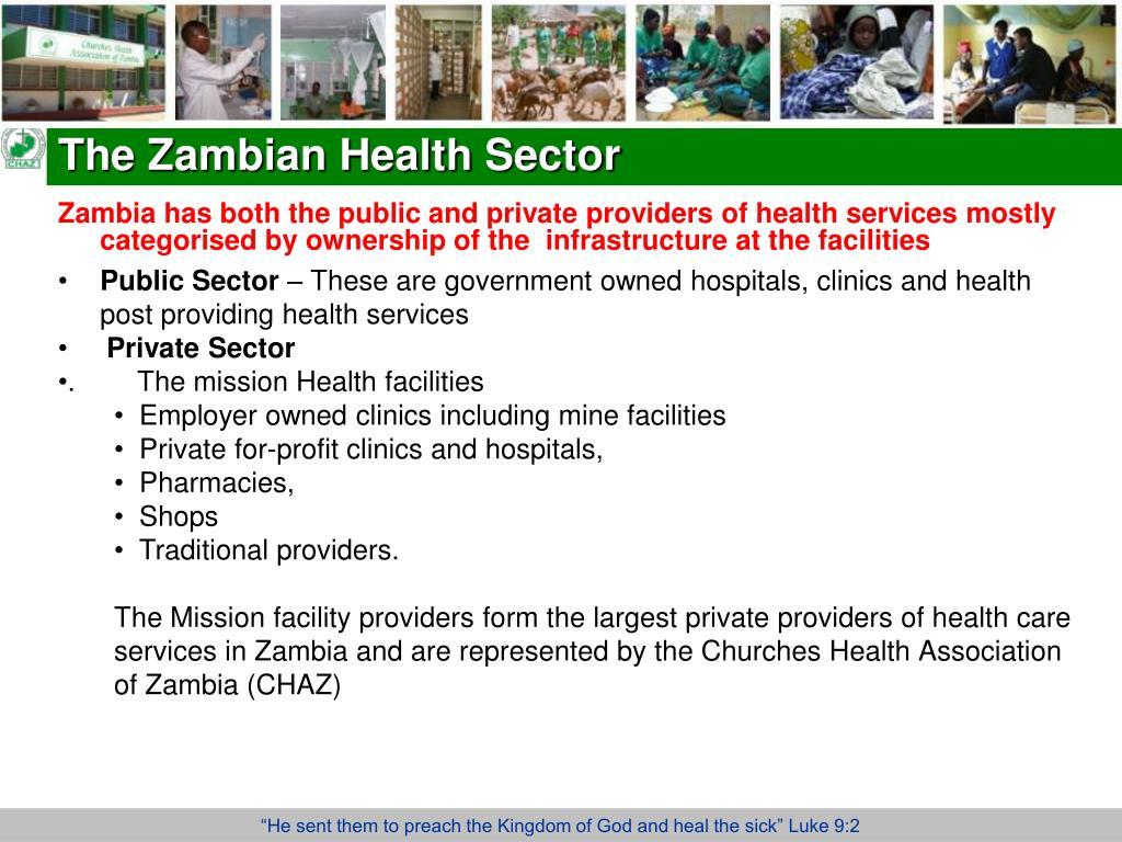 The Zambian Health Sector
