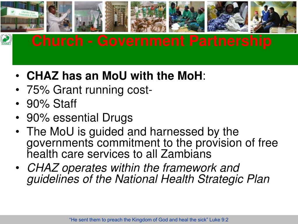 Church - Government Partnership