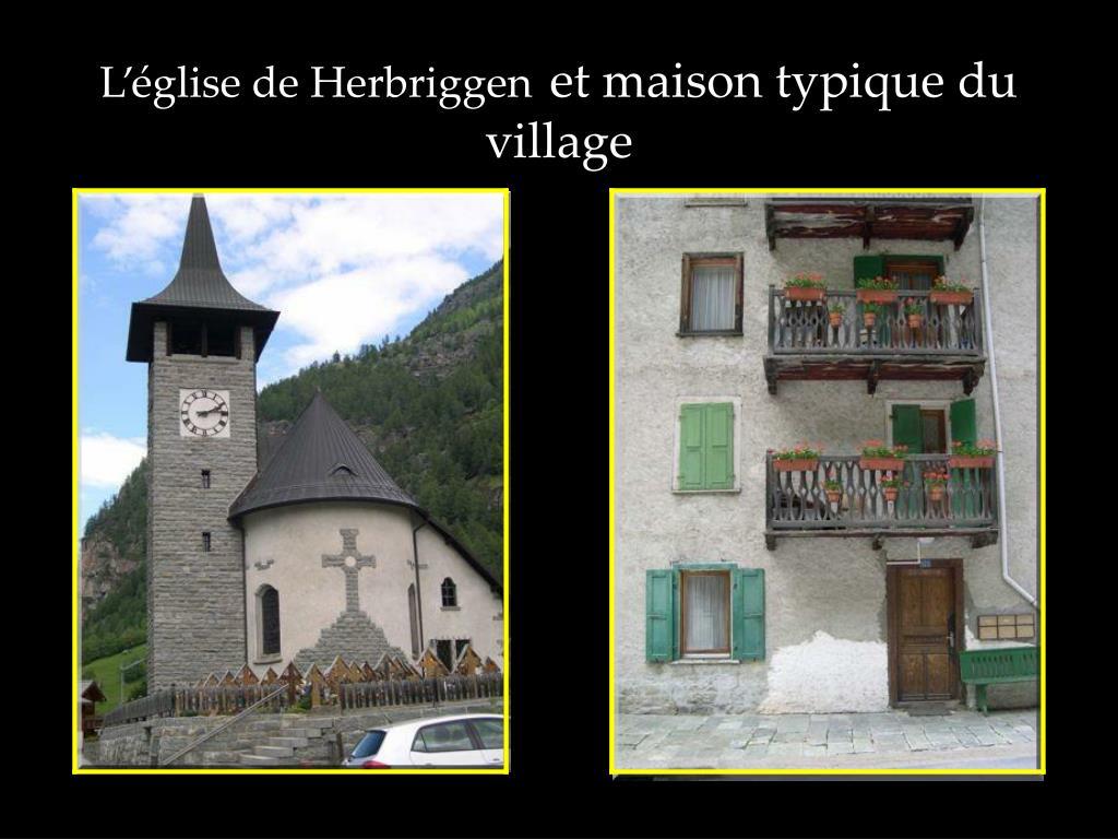 L'église de Herbriggen