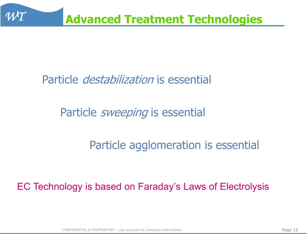 Advanced Treatment Technologies