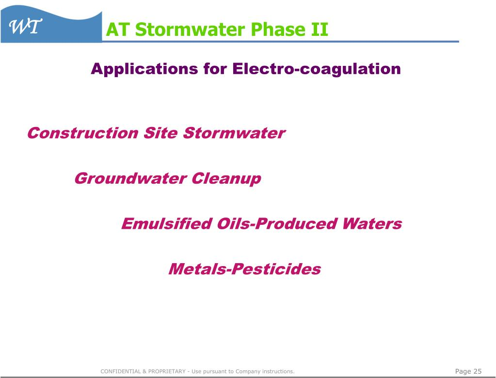 AT Stormwater Phase II