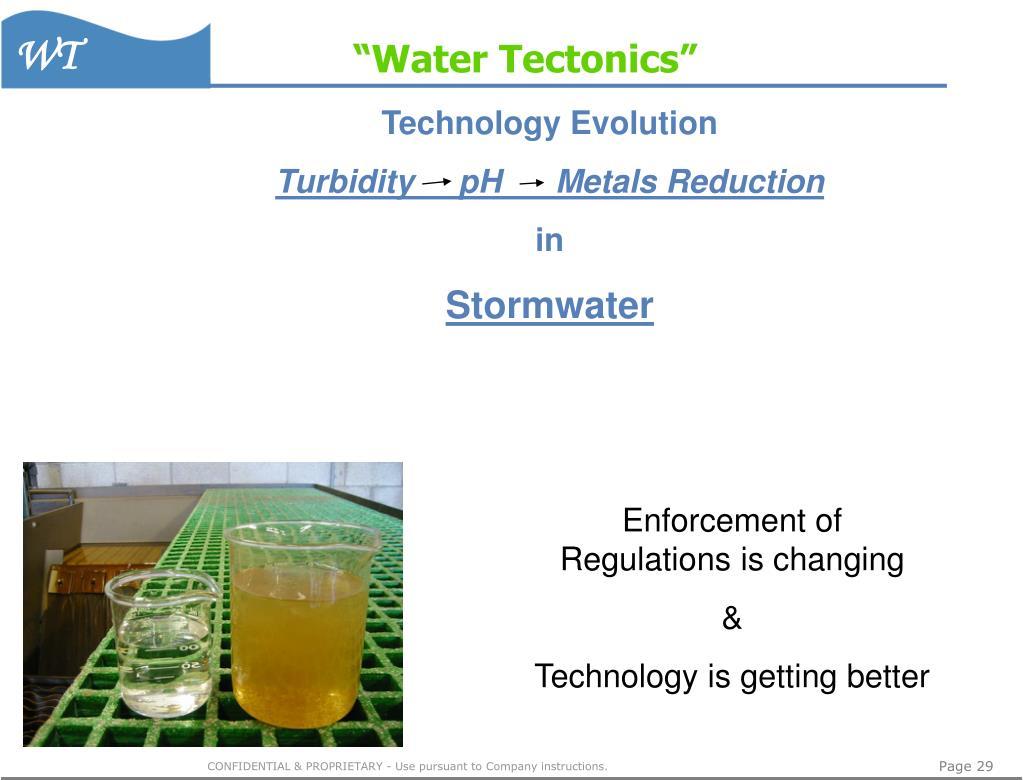 """Water Tectonics"""
