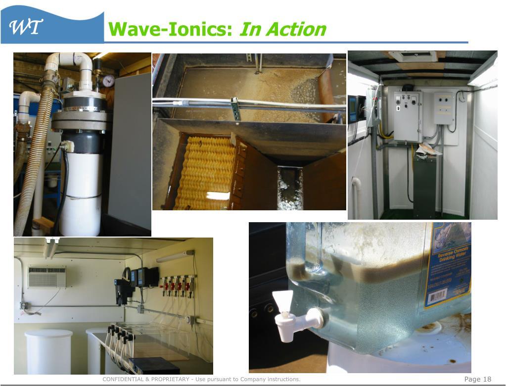 Wave-Ionics: