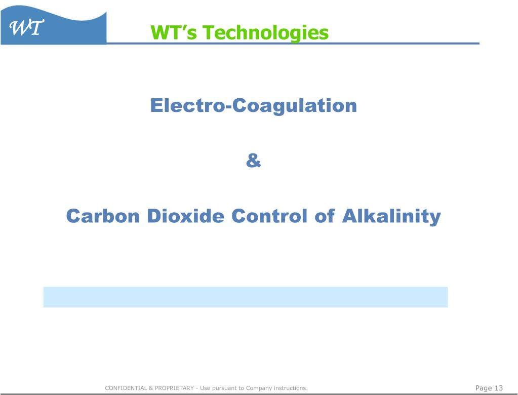 WT's Technologies