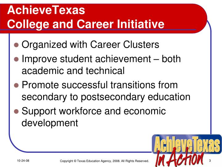 Achievetexas college and career initiative l.jpg