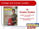 college and career guides